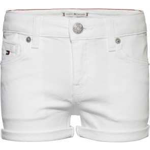 Tommy Hilfiger kids girls nora short korte broek in de kleur wit