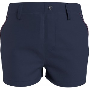 Tommy hilfiger kids girls essential chino shorts korte broek in de kleur donkerblauw
