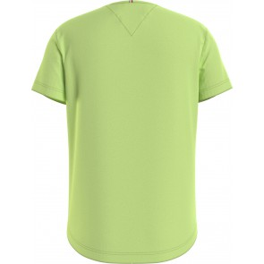 Tommy Hilfiger kids girls essential tee shirt in de kleur lime green