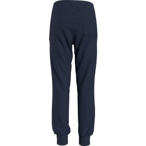 Tommy Hilfiger kids boys essential sweatpants sweatbroek in de kleur donkerblauw