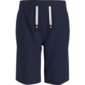 Tommy Hilfiger kids boys essential sweatshorts korte broek in de kleur donkerblauw