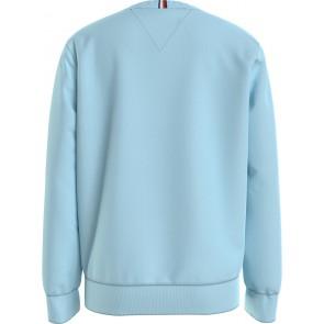 Tommy Hilfiger kids boys flag sweatshirt trui in de kleur frost blauw lichtblauw