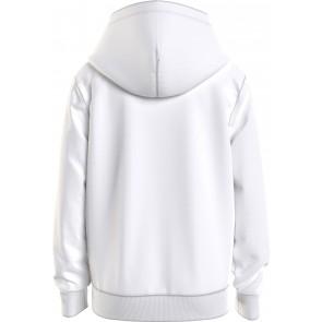 Tommy Hilfiger kids boys essential hoodie sweater trui in de kleur wit