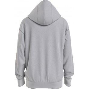 Tommy hilfiger kids boys colorblock photoprint hoodie in de kleur grijs