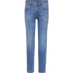Tommy Hilfiger kids boys simon skinny summer blue stretch jeans broek in de kleur jeansblauw