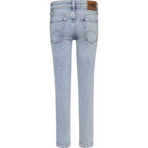 Tommy Hilfiger kids boys simon skinny light blue jeans broek in de kleur jeansblauw