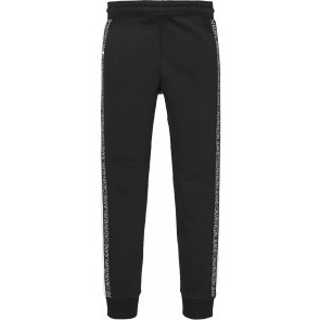 Calvin Klein kids boys colour block sweatpants broek in de kleur zwart/wit