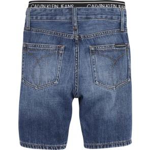Calvin Klein kids boys korte broek regular short in de kleur jeansblauw