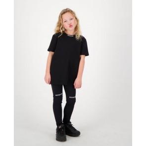 Reinders kids girls t-shirt open back in de kleur zwart