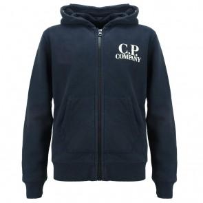 CP Company undersixteen kids goggle vest in de kleur donkerblauw
