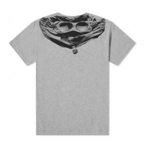 CP Company undersixteen kids t-shirt met goggle print in de kleur grijs