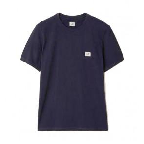 CP Company undersixteen kids t-shirt mini logo in de kleur donkerblauw