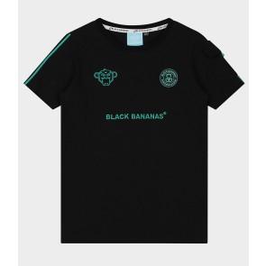 Black Bananas junior kids unity tee shirt in de kleur zwart/aqua
