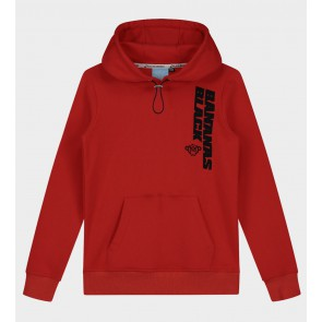 Black Bananas junior kids Verso hoody sweater trui in de kleur rood