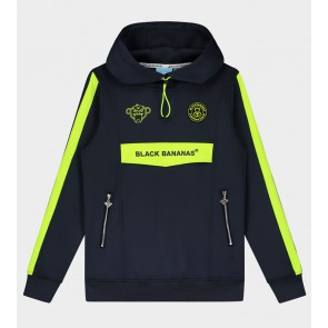 Black Bananas junior kids anorak match tracktop hoody in de kleur grijs/geel