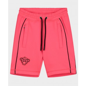 Black Bananas junior kids junior girls piping short korte broek in de kleur neon roze