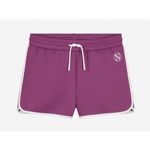 Nik en Nik kids girls korte broek Lena shorts in de kleur raspberry paars