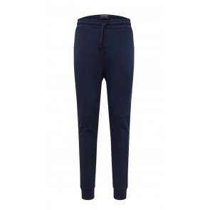 Lyle and Scott junior lange smalle sweatbroek in de kleur donkerblauw