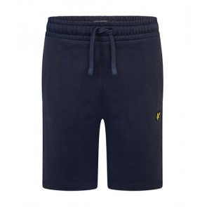 Lyle and Scott junior sweat shorts korte broek in de kleur donkerblauw