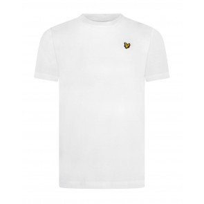 Lyle and Scott junior t-shirt met mini logo in de kleur wit