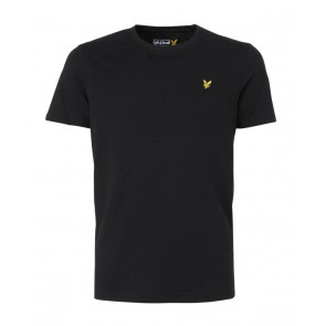 Lyle and Scott junior t-shirt met mini logo in de kleur zwart