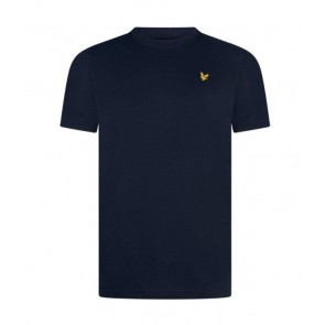 Lyle and Scott junior t-shirt met mini logo in de kleur donkerblauw