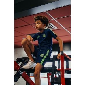 Malelions junior kids homekit short korte broek in de kleur donkerblauw
