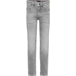 Tommy Hilfiger kids boys scanton slim jeans broek in de kleur concrete grey grijs