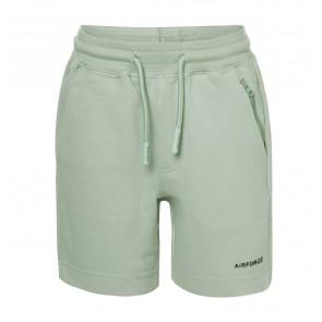 Airforce kids boys korte sweat broek met ritsje in de kleur kleur mintgroen