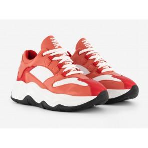 Nik en Nik kids girls sneakers schoenen in de kleur tomato red