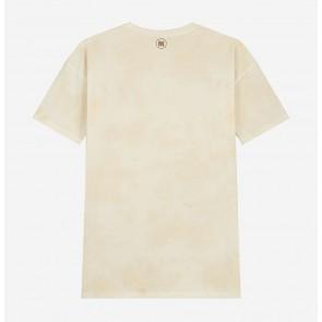 Nik en Nik kids boys around tie dye t-shirt in de kleur mocha brown