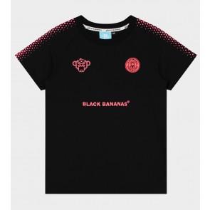 Black Bananas junior hexagon tee shirt in de kleur zwart/pink
