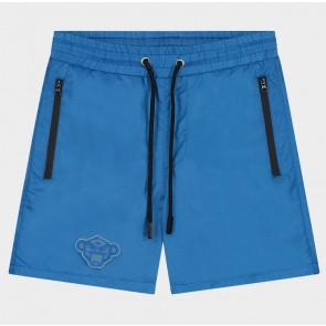 Black Bananas junior jr patchy swimshort zwembroek in de kleur blauw
