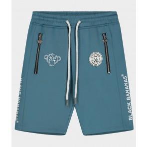 Black Bananas junior jr fc basic short korte broek in de kleur blue blauw