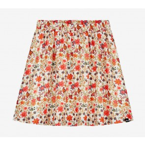 Nik en Nik girls Tilda Cissy skirt rok met bloemenprint in de kleur retro pink