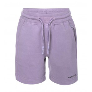 Airforce kids boys short sweat broek in de kleur paars