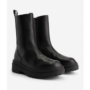 Nik en Nik kids girls kiki boots laarsjes in de kleur zwart