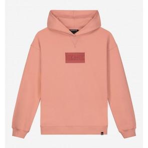 Nik en Nik girls Danika hoodie sweater trui in de kleur zalmoranje