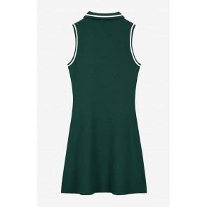 Nik en Nik girls Ashley dress jurk in de kleur deep water green groen