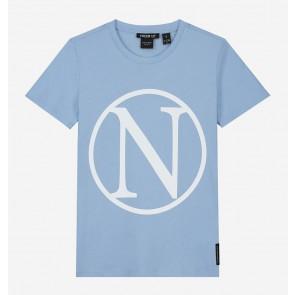 Nik en Nik girls Kim N t-shirt in de kleur water blue lichtblauw