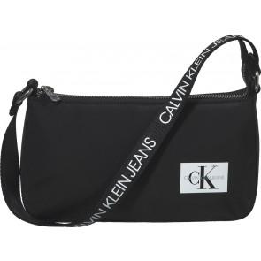 Calvin klein jeans kids logo strapp shoulder bag in de kleur zwart