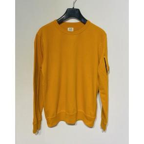 CP Company undersixteen kids sweatshirt crew neck dunne sweater in de kleur oranje