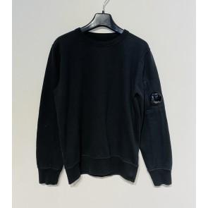 CP Company undersixteen kids sweatshirt crew neck dunne sweater in de kleur zwart
