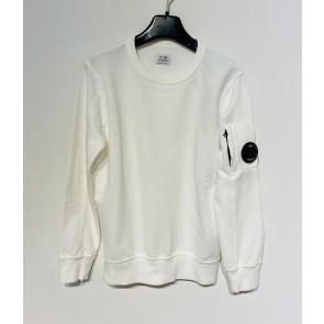 CP Company undersixteen kids sweatshirt crew neck dunne sweater in de kleur wit