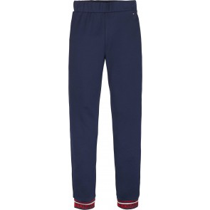 Tommy Hilfiger kids girls tommy pants soepele zachte broek in de kleur donkerblauw