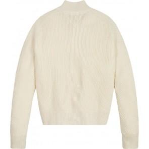 Tommy Hilfiger kids girls cardigan gebreid vest in de kleur creme