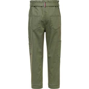 Tommy Hilfiger kids girls cargo pants in de kleur army green groen