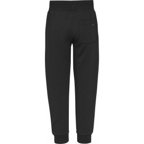Tommy Hilfiger kids boys embossed sweatpants broek in de kleur zwart