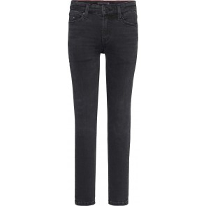 Tommy Hilfiger kids boys simon skinny fit jeans broek in de kleur zwart