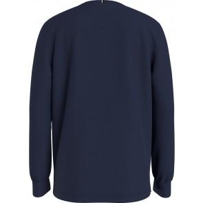 Tommy Hilfiger kids boys artwork tee shirt longsleeve in de kleur donkerblauw